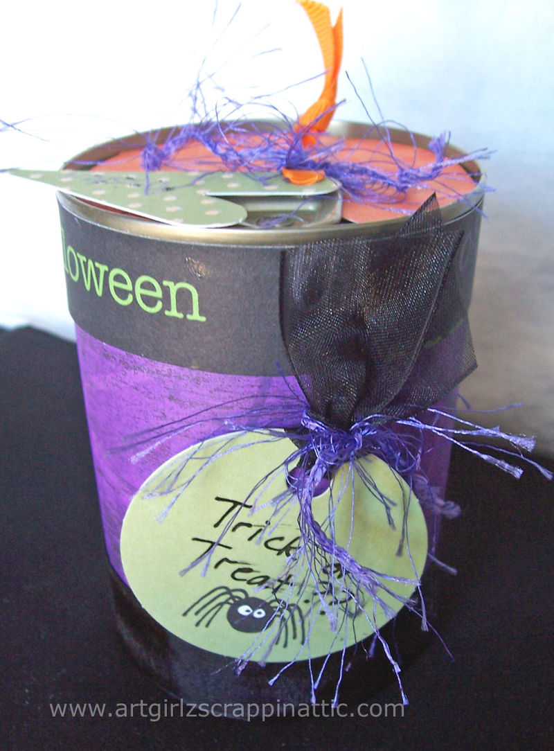 Trick or Treat POP TOP Can #4