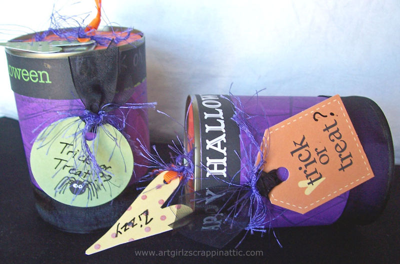 Trick or Treat POP TOP Cans