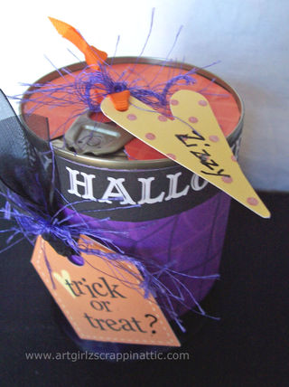 Trick or Treat POP TOP Cans #2