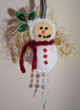 Snowgirl Dottee hanger