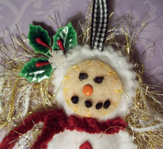 Snowgirl Dottee CLOSE #1